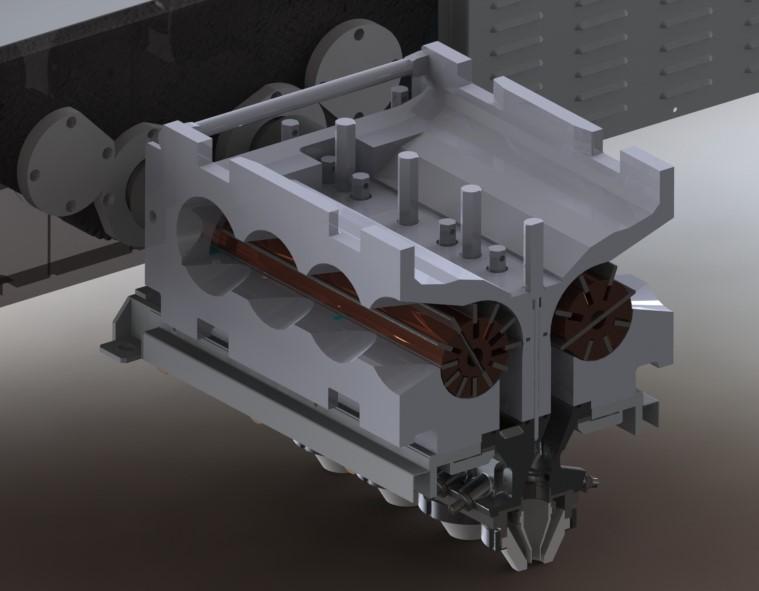 Bisküvi Extruder ve Konveyörü