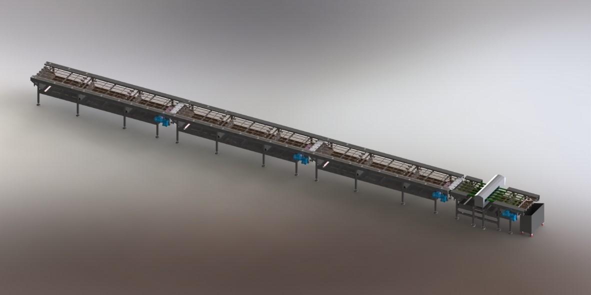 Gofret Taşıma Konveyörleri