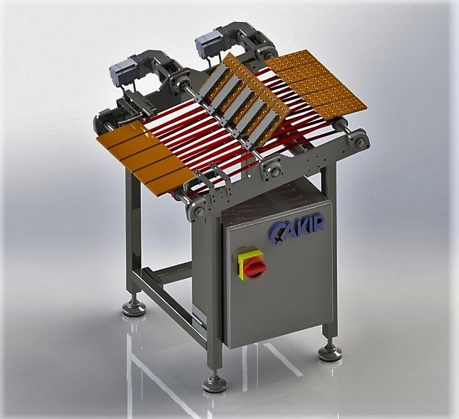 Tablet Çikolata Ters Çevirme Makinesi